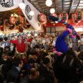 神社の節分祭に初参加!