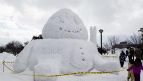 雪しか祭りに行ってきました~!